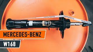Wymiana Amortyzatory MERCEDES-BENZ A-CLASS: instrukcja napraw