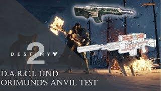 DESTINY 2 D.A.R.C.I. und ORIMUND'S ANVIL Test - Eisenbanner | Deutsch | PC