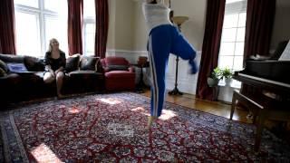 Repeat youtube video Dancer relearning steps--minus her leg