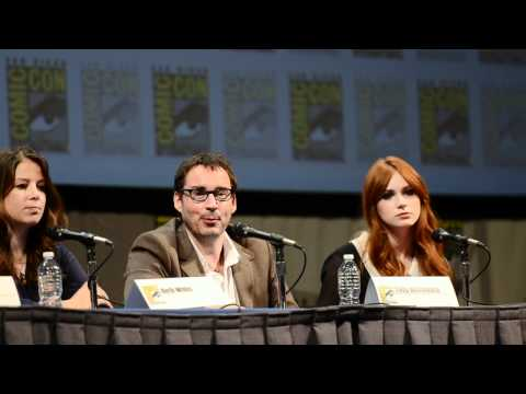 Toby Whithouse on Research @ San Diego ComicCon 2011 Doctor Who