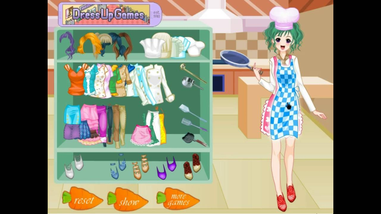 Dress up y8 and makeup - Top Chef Fashion Dress Up Y8 Online Games By Malditha
