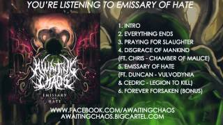 Awaiting Chaos - Emissary of Hate (ft. Duncan - Vulvodynia & Cedric - Legion To Kill)