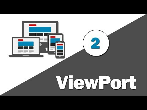 2- ( Responsive Web Design ) What Is Viewport ?