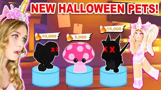 *NEW* HALLOWEEN PETS Coming To Adopt Me?! (Roblox)