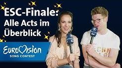 ESC 2019: Finalprognose von Alina und Stefan | Eurovision Song Contest
