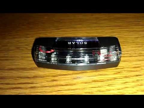 Car Solar 6 LED Alarm Flasher