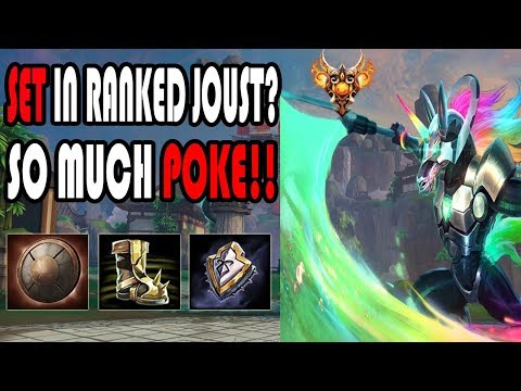 Ranked Joust: BRUISER SET HAS SO MUCH POKE!! -SMITE