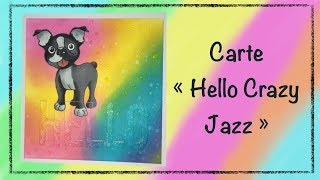 "Carte ""Hello Crazy Jazz"""
