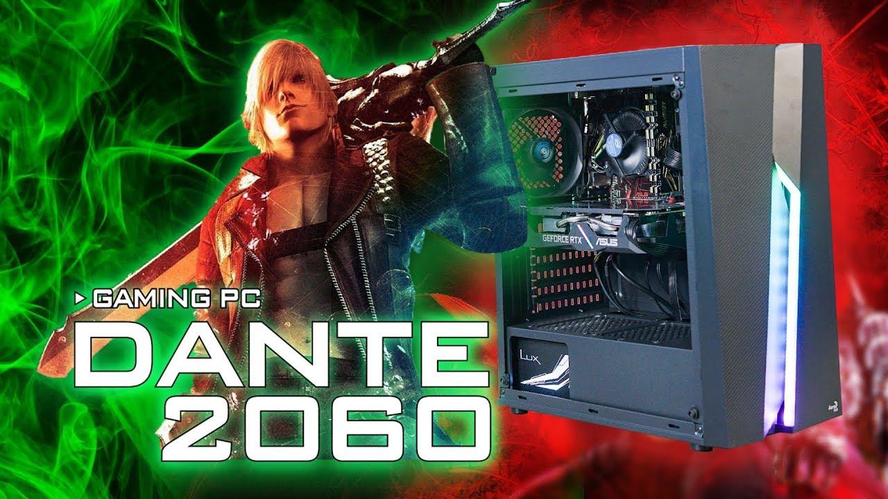16 Triệu Đã Có RTX 2060, 16GB Ram Với Cấu Hình PC Gaming DANTE 2060 – Khắc Tinh Của NGHẼN THỦ!