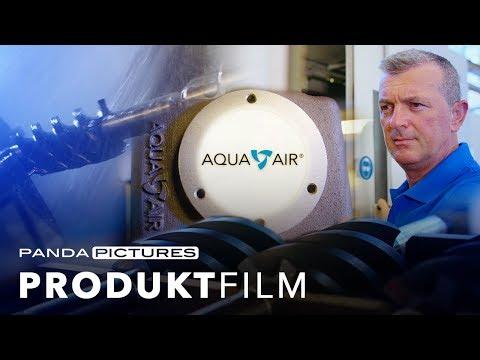 """Produktfilm - Bayrisches Staatsministerium """"Innovationspreis Bayern 2018 - Aquaair"""""""