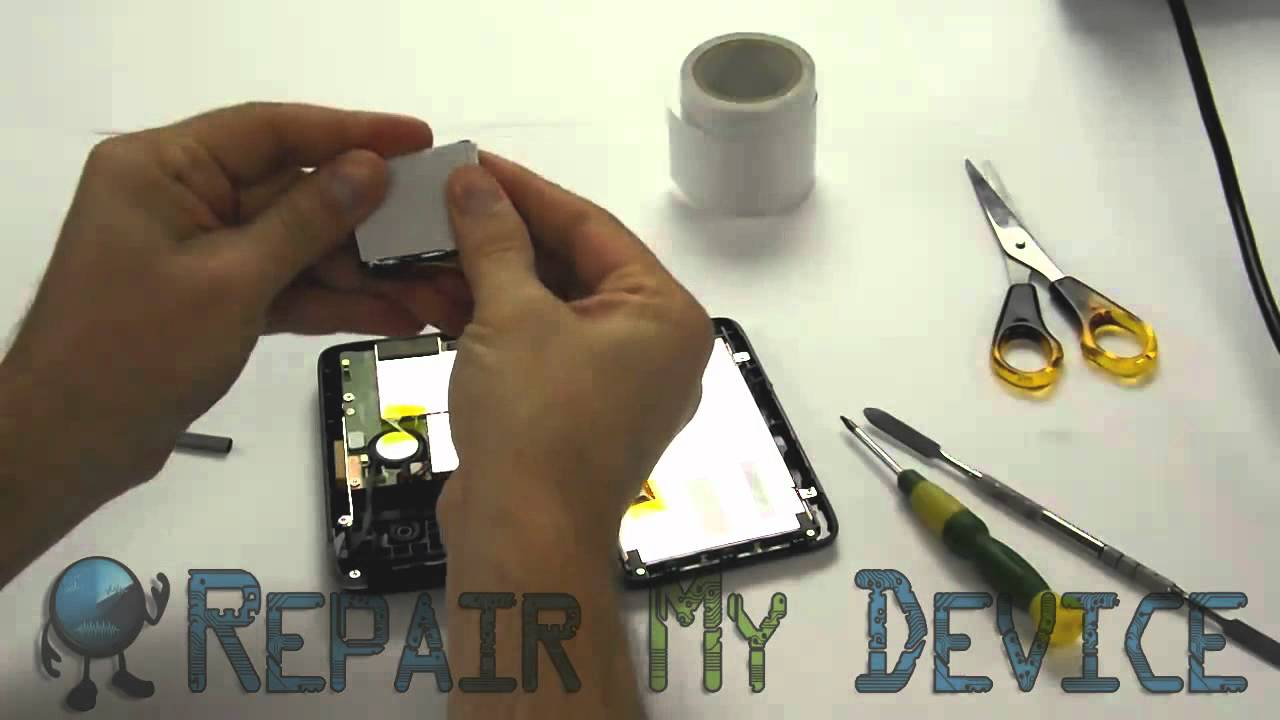 Tomtom 1000 Battery Replacement By Repair