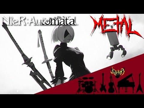 NieR: Automata - Grandma - Destruction 【Intense Symphonic Metal Cover】