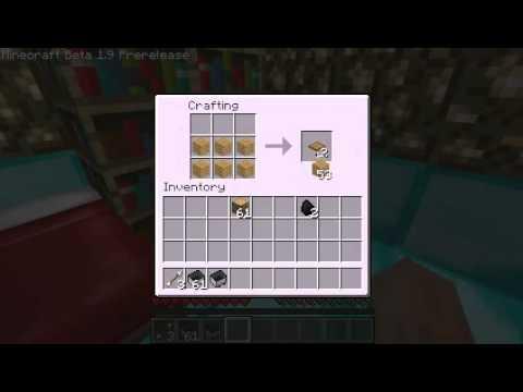 Minecraft How To Make Trapdoor, Wooden Slabs And Pressure ... Minecraft Pressure Plate