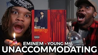 MORE MGK SHOTS!! | EMINEM - UNACCOMMODATING ft. YOUNG M.A (REACTION/BREAKDOWN)