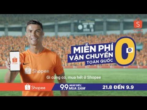 Ronaldo Nói Tiếng Việt Khi Quảng Cáo Shopee Tại Việt Nam.