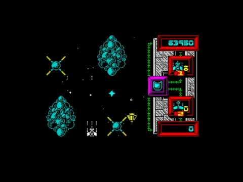Xecutor (1987) 128k AY music version Walkthrough + Review