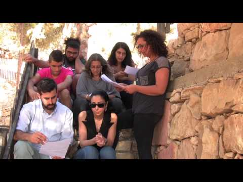 2015 NoPassport Theatre Conference: Fragile Shores - Moment in Ramallah