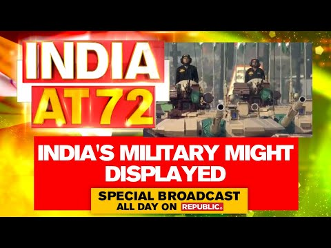 Republic Day 2021: Indian Army Shows Military Might; Parades Tanks & Advanced Missile Systems thumbnail