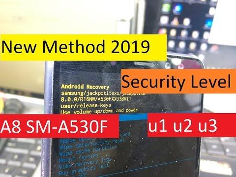New Method 2019 - Samsung Galaxy A8 SM-A530F/2018 Bypass Frp Remove