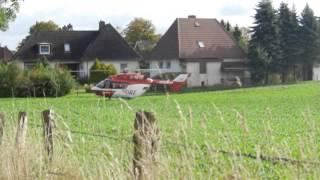 Christoph 42 (D-HECE) BK 117 DRF Rendsburg im Einsatz in Bordesholm
