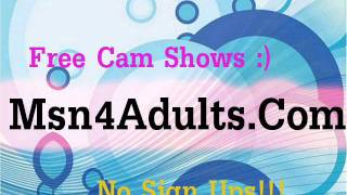 how to free video chat www.msn4adults.com