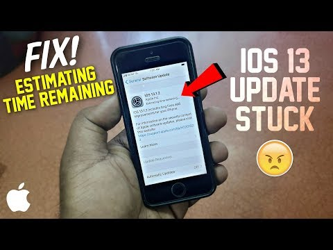 Fix: IOS 13 Update Stuck On Estimating Time Remaining | Iphone Estimating Time Remaining | Hindi