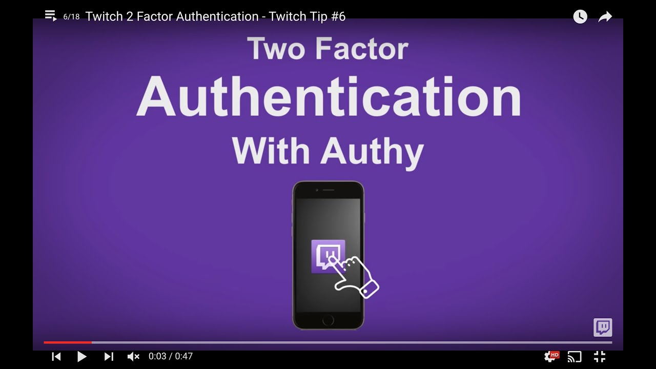 Twitch 2 Factor Authentication - Twitch Tip #6