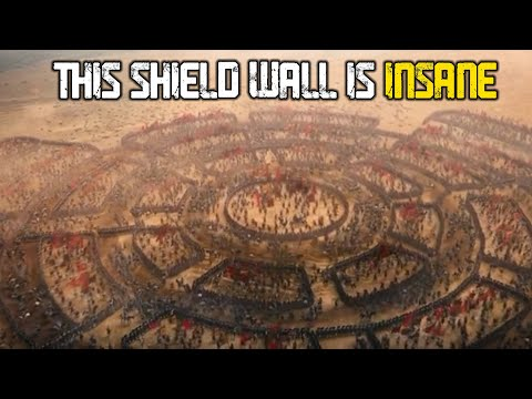 5 Craziest Shield Walls in Films | Part II