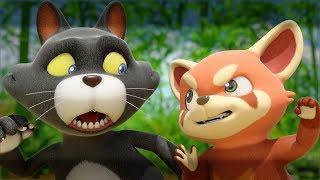 Мультики - Дуда и Дада 🐼 Красная панда Чуку! Все серии - Сборник thumbnail