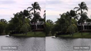 Canon 1300D vs Canon 750D - Video Sharpness Test!