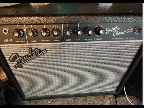 Fender Super Champ XD - PT2 review Don Anderson