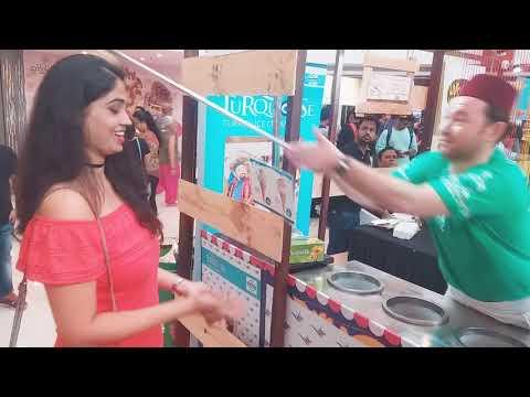 Turkish Ice Cream Challenge at Waffle Fest, Select Citywalk, Saket