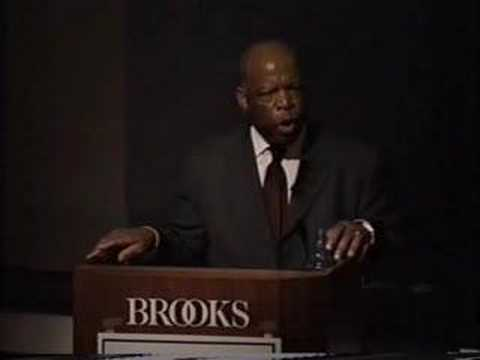 Congressman John Lewis on the Civil Rights Movement