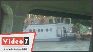 الأتوبيس النهرى وسيلة المواطنين للانتقال إلى حديقة حيوانات الجيزة