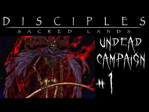 Let's Quest! | Disciples Sacred Lands (undead campaign)  Ep. 1 | Explanations