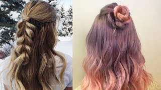 Easy Style for Long Hair | TOP 8 Hairstyles Tutorials Compilation | Part-6