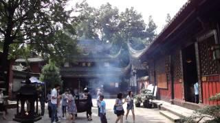 Zen Buddhism, Wenshu Yuan, Chengdu, China