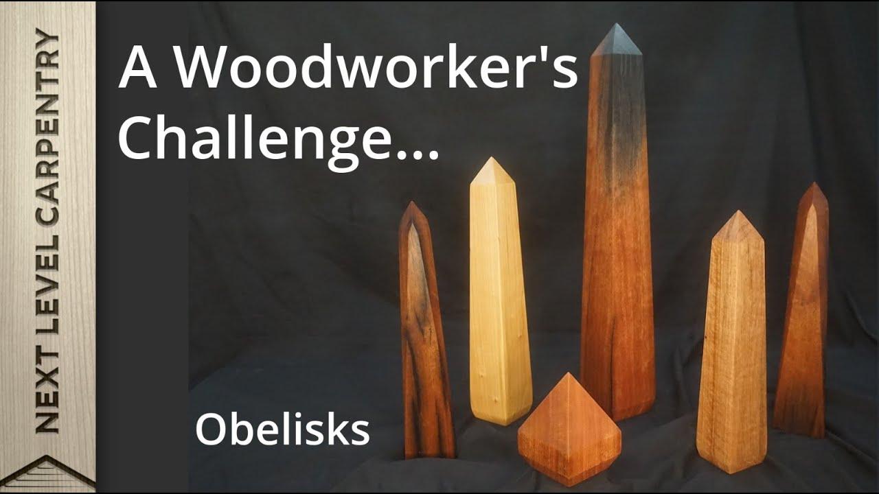 Making an Obelisk: A Woodworker's Challenge