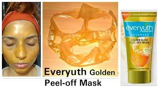 Everyuth Golden Glow Peel-off Mask with 24 Karat Gold (Demo)   Everyuth Mask   stayprettysangita