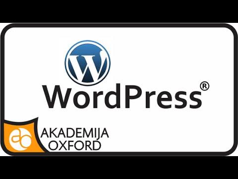 Kurs i Obuka za Wordpress | Akademija Oxford