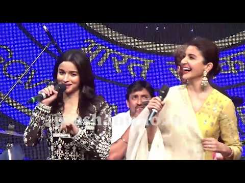 Anushka sharma live latest with alia bhatt