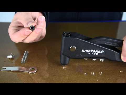 KINCROME Repair & Maintenance: Jaw Replacement for Riveter (CL750)