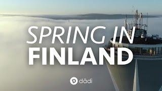 SPRING IN FINLAND / Dji Phantom 4 Pro Drone Footage