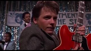 Died Chuck Berry. Peace and love. Чак Берри. Назад в Будущее.