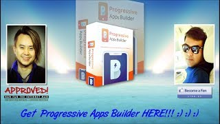 Progressive Apps Builder Sales Video New - get *BEST* Bonus and Review HERE!