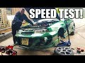 🐒 HOW FAST WILL SHE GO? GREEN MACHINE SPEED TEST!