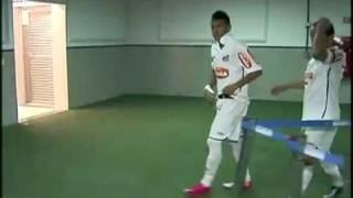 """Santos 4x1 Cruzeiro- A """"volta"""" de Neymar"""