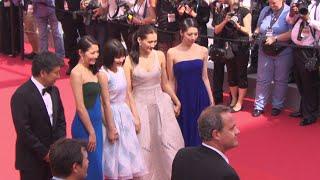 映画『海街diary』カンヌ国際映画祭レッドカーペット(その4)
