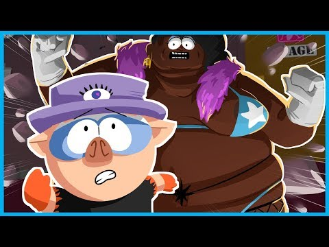 GIANT STRIPPER BOSS FIGHT! - SOUTH PARK: THE FRACTURED BUT WHOLE GAMEPLAY - PART 3 w/ I AM WILDCAT