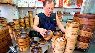 Hong Kong Street Food - DIM SUM HEAVEN + World's BEST Roast Goose!! ICONIC Street Food in Hong Kong!